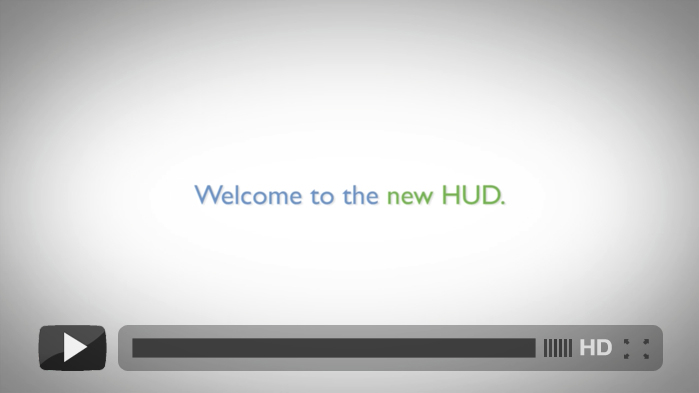 HUD 101: Welcome to the new HUD!
